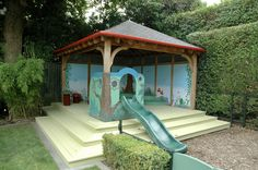 Childrens Playhouse, Sand Pit, Playhouses, Building, Projects, Litter Box, Log Projects, Blue Prints, Buildings