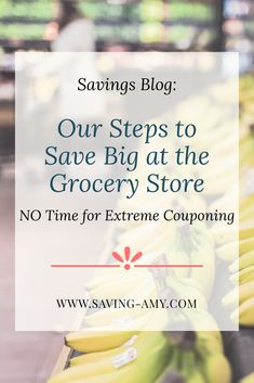 Us: 2 full-time working parents to 2 kids under 3 years old. Here's how we save $50/week at the grocery store without time to extreme coupon. #grocerystore #groceryshop #grocerysavings #ibotta #coupons
