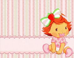 Making My Party!: Strawberry Shortcake Baby - Complete Kit