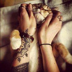 Inked animal lovers