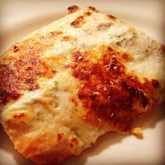 Easy Cheesy Salmon. This delicious recipe only has 4 ingredients including Boursin and Parm. Try it out!