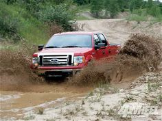 It's in the middle of no where and only one way to get their. You gotta get a little mud on the tires.