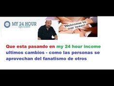 MY 24 HOUR INCOME ESPAÑO 24 QUE ESTA PASANDO CON JORGE IVAN FRANCO
