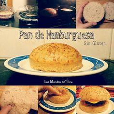 Pan Hamburguesa (Sin gluten, Sin lactosa, sin yema de huevo, sin sorbitol, sin fructosa, sin soja y sin maíz) Dieta Fodmap, Tapas, Pan Sin Gluten, Crackers, Hamburger, Pancakes, Veggies, Gluten Free, Keto