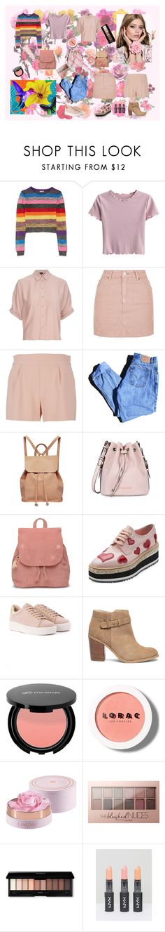 """No winter lasts forever; no spring skips its turn."" by explorer-14579595798 on Polyvore featuring мода, Miu Miu, Topshop, Moschino, Levi's, Urban Originals, Armani Jeans, TOMS, Prada и Sole Society"