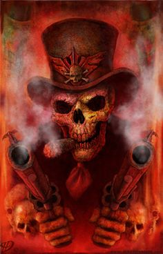 Skull N Bones by JaredDennis. Another peice of art i love and want on my wall very well done and props to the artest