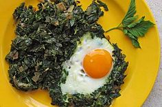 Giersch mit Kartoffelschnee und Ei (Rezept mit Bild) | Chefkoch.de
