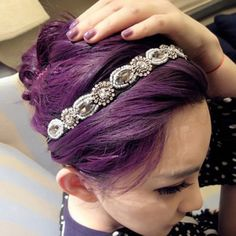 Fashion Gorgeous Style Rhinestone Embellished Vintage Hair Band For Women, AS THE PICTURE in Hair Accessories | DressLily.com