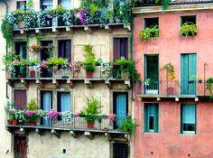 garden balconies Vicenza