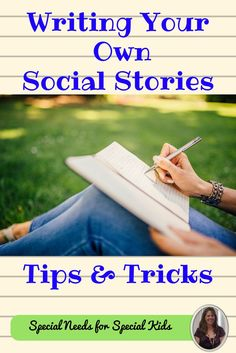 FREE. Watch this short 3 minute video on how you can easily learn to write your very own social story in a very short time. #specialneedsforspecialkids #SPED #specialed #SpecialEducation #lessonplans #socialstories #writing #writingsocialstories #free