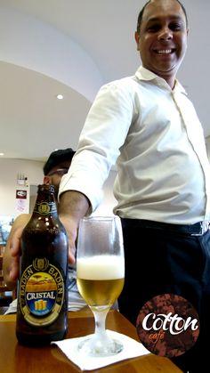 Atendimento de primeira classe! Simpatia e ótimas cervejas!