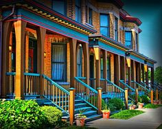 """500px / Photo """"Row Houses"""" by James Kirk"""