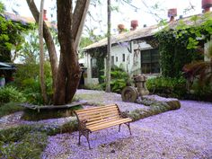 The Butter Factory, Bellingen, NSW, Australia. The jacaranda blossom have added a beautiful layer of violet carpet! Journey's End, Community Events, East Coast, The Locals, 10 Years, Beautiful Places, Landscapes, Bucket, Carpet