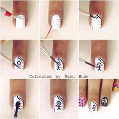 Drawing nails