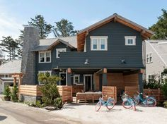 An Unbelievably Cool House. Vacation beach house in Washington's Seabrook area