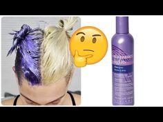 Power of Shimmer Lights Purple Shampoo- Maintain Gray Hair - How to get Grey Hair - Pintgrams Purple Shampoo Toner, Lila Shampoo, Purple Shampoo For Blondes, Best Purple Shampoo, Purple Shampoo And Conditioner, Shampoo For Gray Hair, Hair Toner, Toning Blonde Hair, Ash Blonde Hair Dye