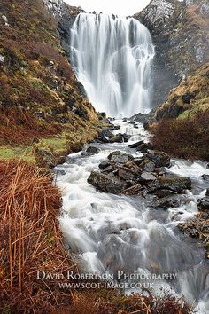 Clashnessie Waterfall, Scotland