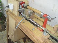 Copiador para Torno de Madeira (Copier for Wood Lathe) - YouTube                                                                                                                                                                                 Más