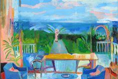 Dalla finestra di Rosi | Pintura de Iria | Flecha