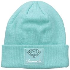 Diamond Supply Co. Men's OG Sign Beanie: Cotton twill snapback Woven flag label for authenticity