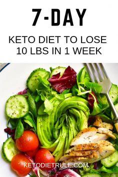 Keto meal plan to lose 10 pounds in week. Lose weight, burn fat and improv. - Keto meal plan to lose 10 pounds in week. Lose weight, burn fat and improv. Keto meal plan to lose 10 pounds in week. Ketogenic Diet Meal Plan, Diet Meal Plans, Meal Prep, Lchf Meal Plan, Keto Diet Plan Menu, Free Keto Meal Plan, Food Prep, Ideas De Almuerzo Keto, Keto Diet Side Effects