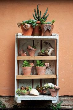 Decore o jardim com objetos do dia a dia
