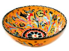 Hand-painted Turkish Large Bowl