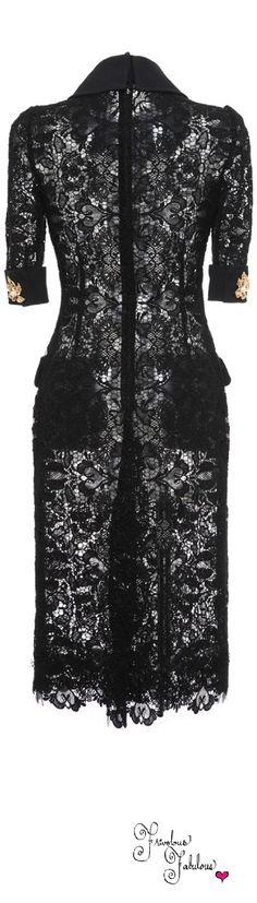 Frivolous Fabulous - Dolce & Gabbana Fall Winter 2015 Back View