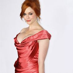 "She was named the ""sexiest woman in the world"" and says ""It's all about having everything in moderation"", read more about #MadMen star, Christina Hendricks workout style here."