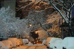 Upper West Side during Blizzard Nemo Feb 9 2013