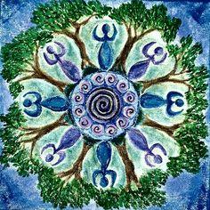 ⊰❁⊱Diosas Mandala ⊰❁⊱ Goddess Mandala