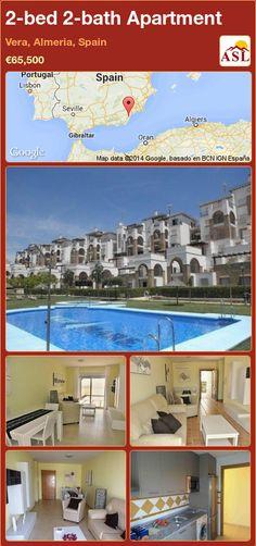 2-bed 2-bath Apartment in Vera, Almeria, Spain ►€65,500 #PropertyForSaleInSpain
