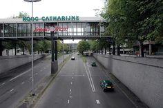 Catharijnebaan in 2004, de verpaupering begon toe te slaan...