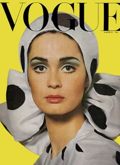 Best Vintage Vogue Covers of All Time Marie Lise Gres - Vogue UK March 1965 by Henry Clarke (Hat dress by Hardy Amies)Marie Lise Gres - Vogue UK March 1965 by Henry Clarke (Hat dress by Hardy Amies) Vogue Vintage, Capas Vintage Da Vogue, Vintage Vogue Covers, Moda Vintage, Vintage Fashion, 1960s Fashion, Vintage Models, Vintage Style, Vogue Uk
