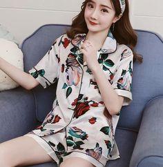 1b2c61252b JRMISSLI Summer Women Pajamas Sets Bear Printed Short Sleeve Cute Pajamas  For Women Pijama Mujer Pyjamas Sleepwear