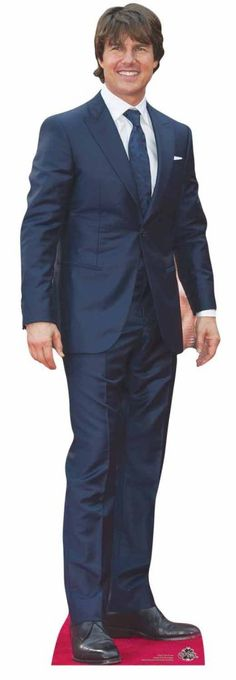Tom Cruise Cardboard Cutout / Standee / Stand Up Life Size Cardboard Cutouts, Red Carpet Party, Hollywood Party, Tom Hardy, Tom Cruise, Stand Up, Toms, Celebrity, Jason Statham
