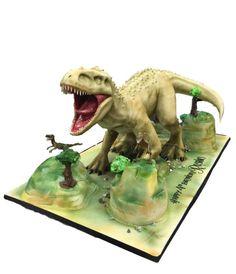 3D Dinosaur cake - cake by House of Cakes Dubai