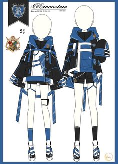 Fashion Design Drawings, Fashion Sketches, Pretty Outfits, Cool Outfits, Fashion Outfits, Cosplay Outfits, Anime Outfits, Vetements Clothing, Drawing Anime Clothes