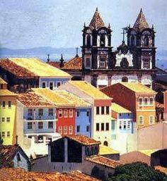 Pelourinho - Salvador, Brazil.