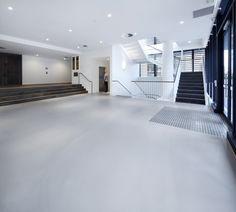 Honestone Urbanest - Student Accommodation, Concrete flooring and wall #Sustainability #Concrete