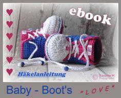 Anleitung E-Book  Baby- Boot's *Love* von trudi`s-kram auf DaWanda.com