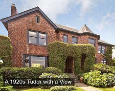 Brick Tudor 3321 Cascadia Seattle For Sale