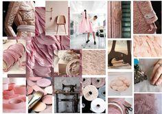 Création 1 : Temps, Tradition, Fait main.    Thématique : rose poudré  #savoirfaire #temps #tradition #design #moodboard #rosepoudré #madynoushka