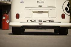 Porsche Bi-Turbo Race Taxi Bus