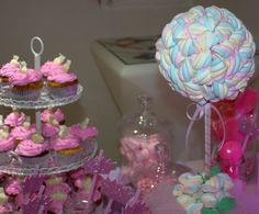 #Sweets #Candybar #cupcakes #malvaviscos #golosinas