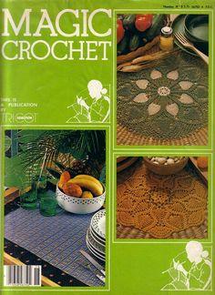 Free Crochet Patterns: Magic Crochet No. 18