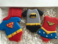 La Dolce Vita Confections:  Superkids onesies.  Super hero babies.