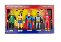 DC Comics Justice League New Frontier Bendable Action Figures Superhero Set ** You can get more details by clicking on the image.Note:It is affiliate link to Amazon.