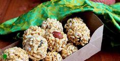 Mamara na ladoo recipe #healthy #winter #gujarati #recipes #indiancuisine #snacks #uttarayan
