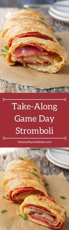 Game day, soccer tournaments and busy days of all kinds call for a simple dinner you can eat with one hand!